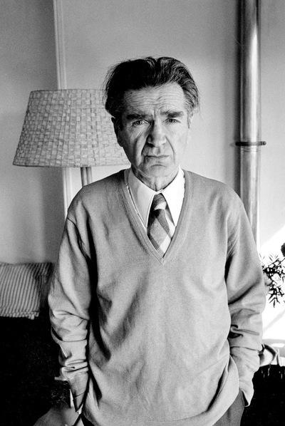 Emil Cioran, en París, en 1977.