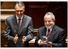 La visita de Lula y Rousseff da un respiro político a Portugal