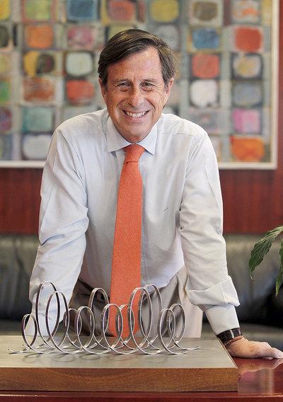 El alcalde de Alcobendas, en su despacho.