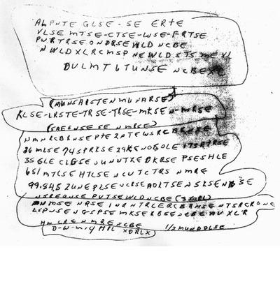 El FBI pide ayuda para descifrar el código de este manuscrito