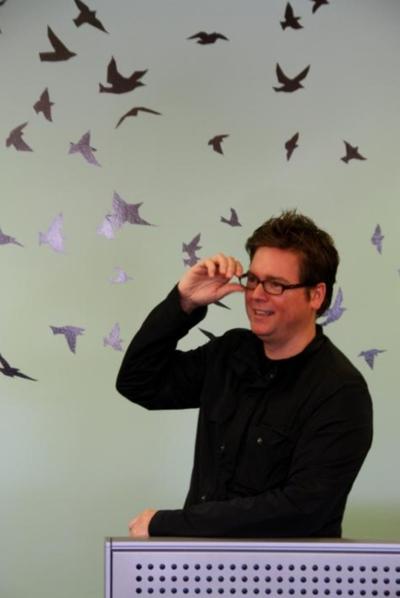 Isaac 'Biz' Stone, cofundador y director creativo de Twitter.