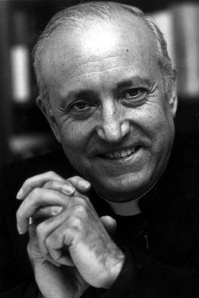 García-Gasco en 1990, cuando lideraba la Conferencia Episcopal.