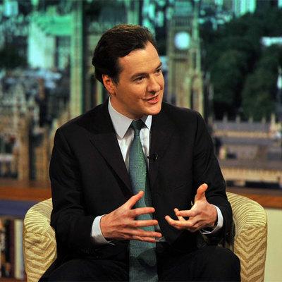 El ministro de Hacienda británico, George Osborne.