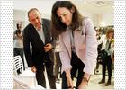 La ministra González-Sinde insufla ánimos al Cabanyal
