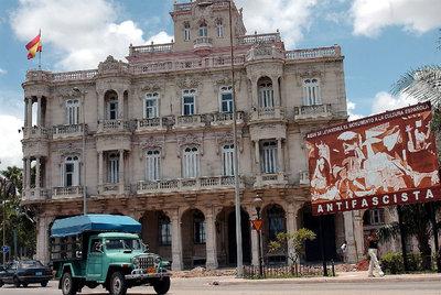 La embajada de España en La Habana, en una fotografía tomada en 2003.
