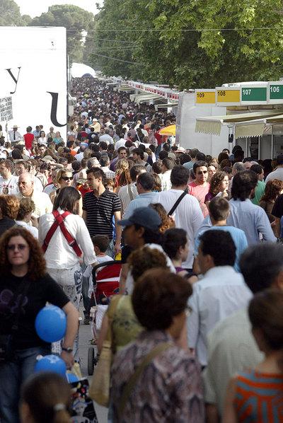 La Feria del Libro de Madrid es un termómetro del mercado editorial.