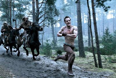 Escena de las película Centurión .