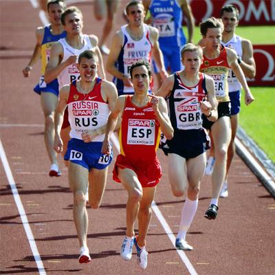 Manuel Olmedo, ganador de los 1.500 metros.