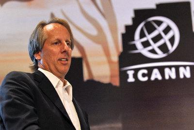 Rod Beckstrom, consejero delegado de ICANN.