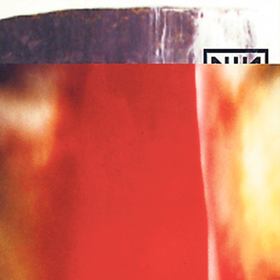 Artwork del disco  The Fragile  , de Nine Inch Nails, por David Carson