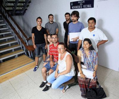 Líderes de la Plataforma de Afectados por la Hipoteca de Madrid.