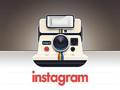 El logo de Instagram, la aplicación fotográfica para iPhone.