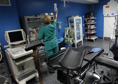 En la imagen, la clínica Dator, a la que Sanidad debe más de un millón de euros.