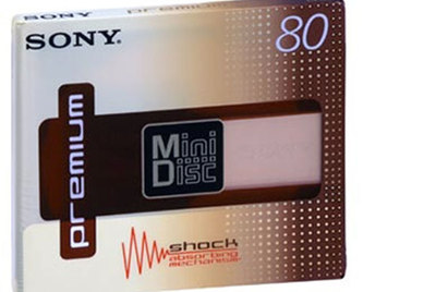 MiniDisc de Sony.