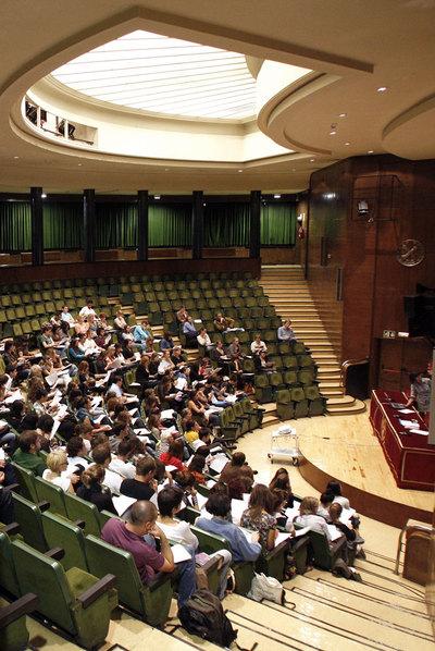 Facultad de Filosofía de la Universidad Complutense de Madrid.