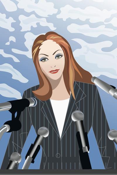 Faltan mujeres con poder
