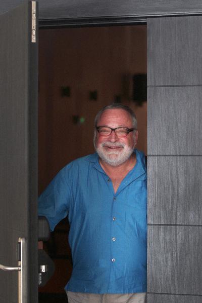 Fernando Savater, ayer en El Escorial, donde habló de  Ética para Amador.
