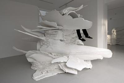 Sediments Sentiments (Figures of Speech)  (2007), de Allora & Calzadilla, en la exposición  El grito .