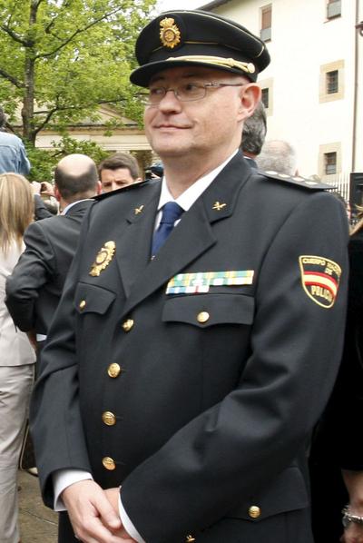 Enrique Pamies, jefe superior de Policía del País Vasco.