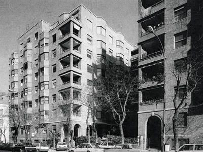 Casas de la calle de Miguel Ángel construidas en 1936 por Luis Gutiérrez Soto