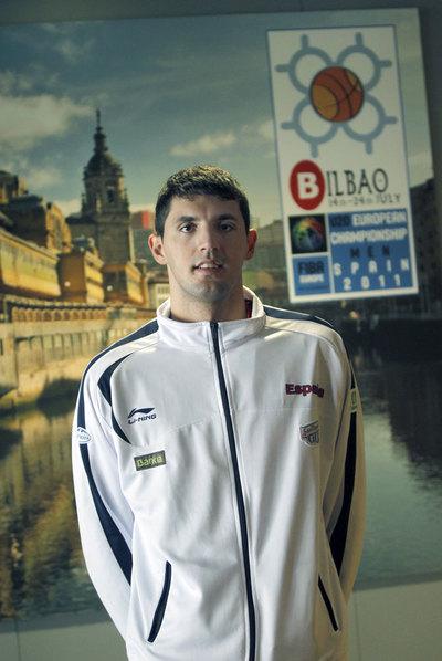 Nikola Mirotic en la concentración de la selección sub 20.