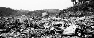 La prefectura de Iwate, al norte de Japón, tras el seísmo del 11 de marzo.