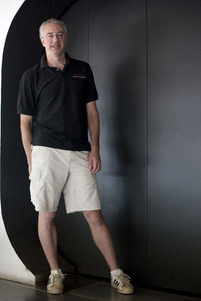El especialista en lenguaje natural Chris Welty, en Barcelona.