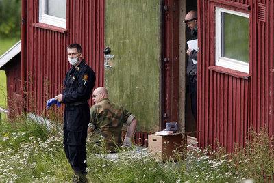 La granja de Breivik en Rena, a 160 kilómetros de Oslo.