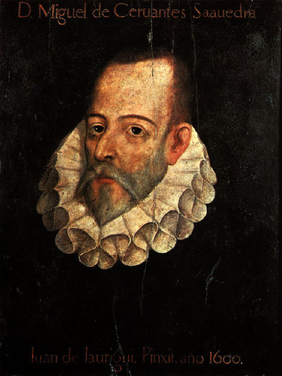 Retrato de Miguel de Cervantes de Juan de Jáuregui.