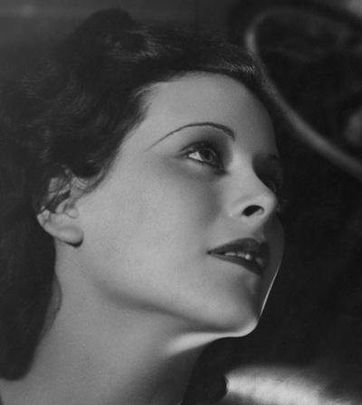 Hedy Lamarr (Viena, 1914-Orlando, 2000).