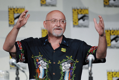 Frank Darabont, la semana pasada en Comic Con, antes de anunciarse su renuncia.
