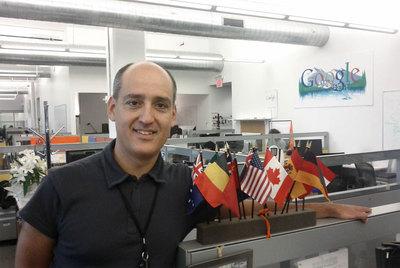 Pedro Moreno trabaja en el reconocimiento de voz.