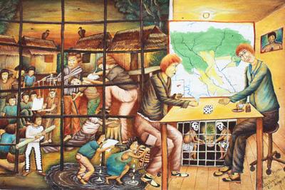 La autonomía negada,  de Brus Rubio, que cuenta la historia del pueblo huitoto-murui.
