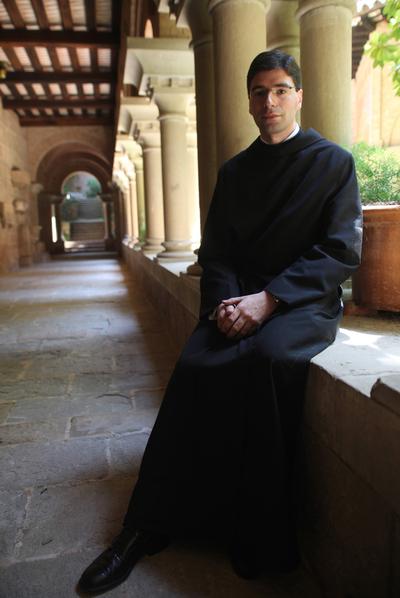 Bernat Juliol cambió la toga por los hábitos.