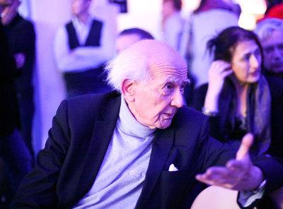 El sociólogo y ensayista polaco Zygmunt Bauman,  alma mater  del congreso celebrado en Wroclaw.