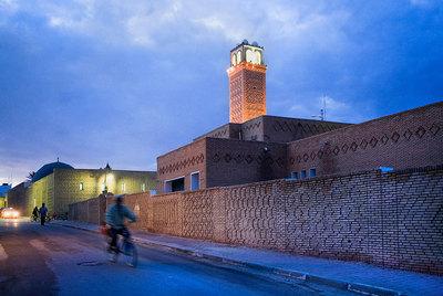 La mezquita de Sidi Abib Lakhdar, en Tozeur (Túnez).