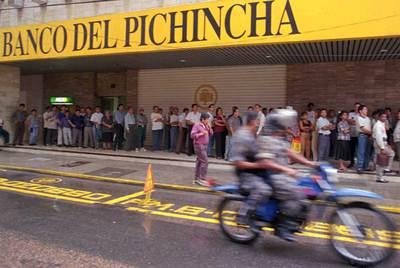 Una sucursal de Pichincha en Guayaquil, Ecuador.