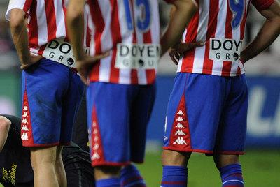 Doyen Group, anunciado en las camisetas del Sporting.