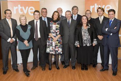 ... Mari Cruz Llamazares, Francesc Bellmunt, Jesús Andreu y Miguel Ángel