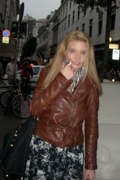 La joven modelo Soraya, en una fotografía cedida por la familia.