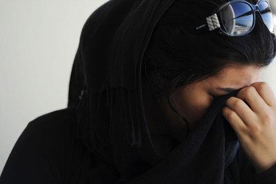 Safia (nombre ficticio) de 22 años en la actualidad. Pasó cinco en la compañía forzada de Gadafi.