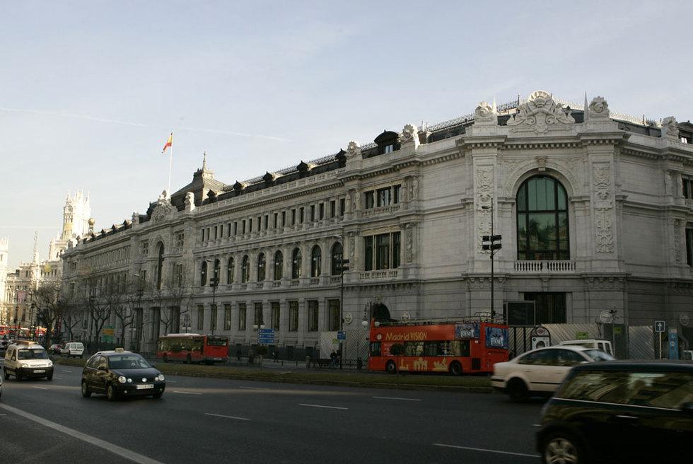 Sede del banco de espa a en madrid edici n impresa el pa s for Horario bancos madrid