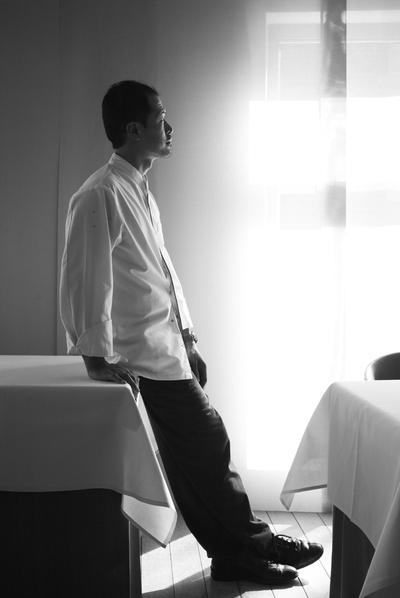 El chef coreano-belga Sang Hoon Degeimbre.