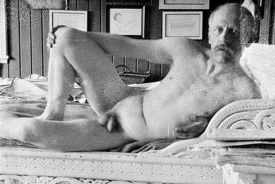 El gran explorador polar noruego Fritjod Nansen en una de las fotos que envió a su amante.