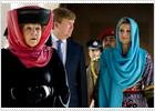 La reina Beatriz defiende el uso del velo