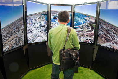 Presentación de Google Earth en San Francisco.