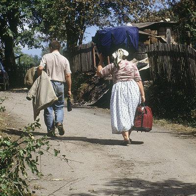 Imagen tomada en los primeros noventa en Dobosnica.