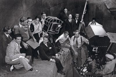 Rodaje de la versión hispana de 'Drácula' en 1931, dirigida por George Melford y con el cordobés Carlos Villarías rnen el papel del vampiro.