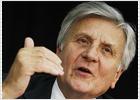 Trichet prevé una mayor contracción del PIB de la Eurozona