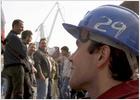 Los trabajadores paralizan los astilleros de Sestao en protesta por las subcontratas